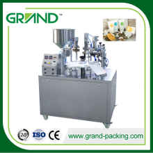 NF-30 Semi-automatic Composite tube filling and sealing machine for cosmetics