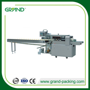 Face mask flow packing machine